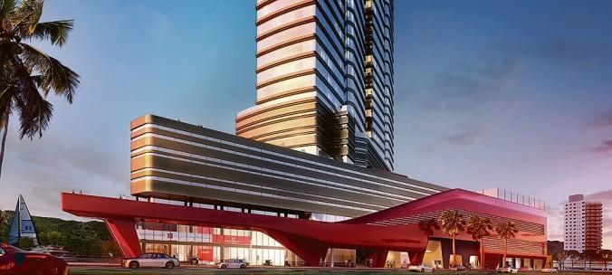 Imponente, residencial lançado no final de 2013 terá 252 apartamentos com área privativa de 250 m² e preço a partir de R$ 3,5 milhões.