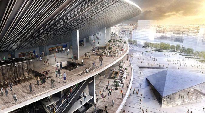 Desenho mostra como ficará novo estádio Barcelona, em 2021